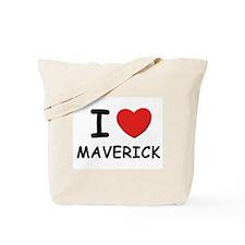 I love Maverick Tote Bag