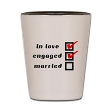 Engaged Shot Glass