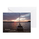 Peace on Cape Cod Greeting Cards (Pk of 10)
