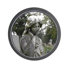 Poised Lady Wall Clock