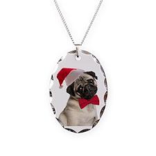 Santa Pug Necklace
