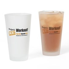 Workout! Your Life Depends On It! Drinking Glass