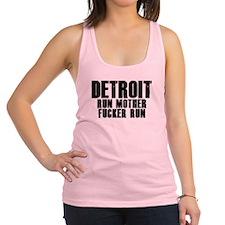 Detroit RUN Racerback Tank Top