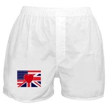 USA & UK Love Boxer Shorts