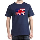 USA &amp; UK Love T-Shirt