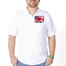 USA & UK Love T-Shirt