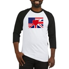 USA & UK Love Baseball Jersey
