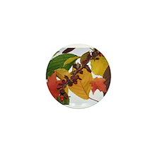 Autumn Leaves by Celeste Sheffey Mini Button