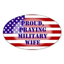 Military Wife Bumper Stickers
