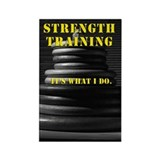 Strength Training Magnet