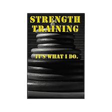 Strength Training Magnet