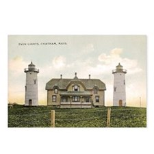 Chatham Twin Lights 1910 Postcards (Pck of 8)