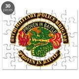 Army - DUI - 89th Military Police Brigade Puzzle
