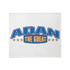 The Great Adan Throw Blanket