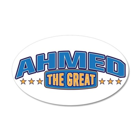 The Great Ahmed Wall Decal