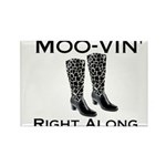 Moovin' Rectangle Magnet (100 pack)