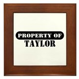 Property of Taylor Framed Tile