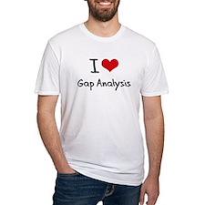 I Love Gap Analysis T-Shirt