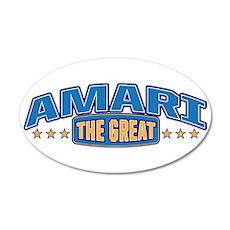 The Great Amari Wall Decal