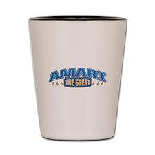 The Great Amari Shot Glass