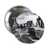 "Stonehenge Illustration 2.25"" Button (100 pack)"