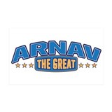 The Great Arnav Wall Decal