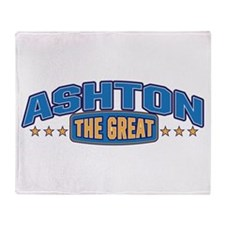The Great Ashton Throw Blanket