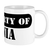 Property of Tania Small Mugs
