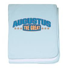 The Great Augustus baby blanket
