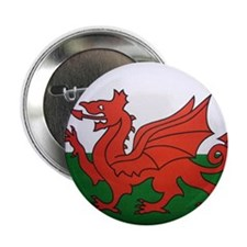"Welsh Flag 2.25"" Button (10 pack)"