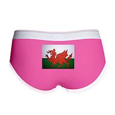 Welsh Flag Women's Boy Brief