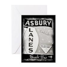 Asbury Lanes Greeting Card