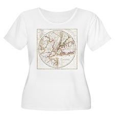 New York 1828 Plus Size T-Shirt