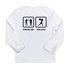 Weightlifting Long Sleeve Infant T-Shirt