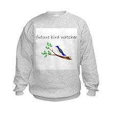 future bird watcher Sweatshirt