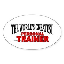 """The World's Greatest Personal Trainer"" Stickers"