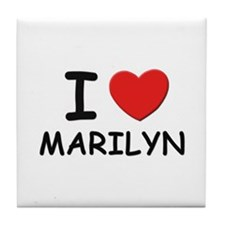 I love Marilyn Tile Coaster