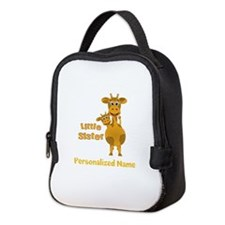 Personalized Sisters Neoprene Lunch Bag