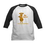 Big sister giraffe Baseball Jersey