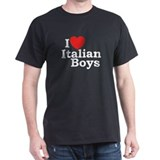 I Love Italian Boys T-Shirt
