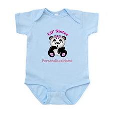 Little Sister Panda Infant Bodysuit