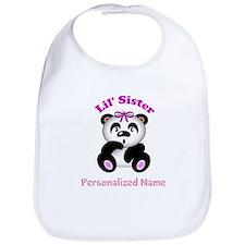 Little Sister Panda Bib