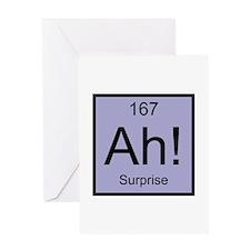 Ah! Surprise Element Greeting Card