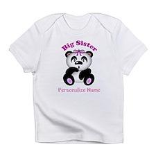 Big Sister Panda Infant T-Shirt