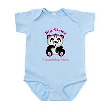 Big Sister Panda Infant Bodysuit