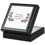 Cute Grace Keepsake Box