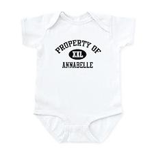 Property of Annabelle Infant Bodysuit
