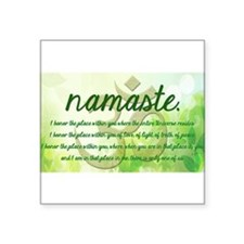 Namaste Greeting Sticker