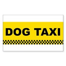 dogtaxi Decal