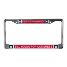Elect Bill Young License Plate Frame